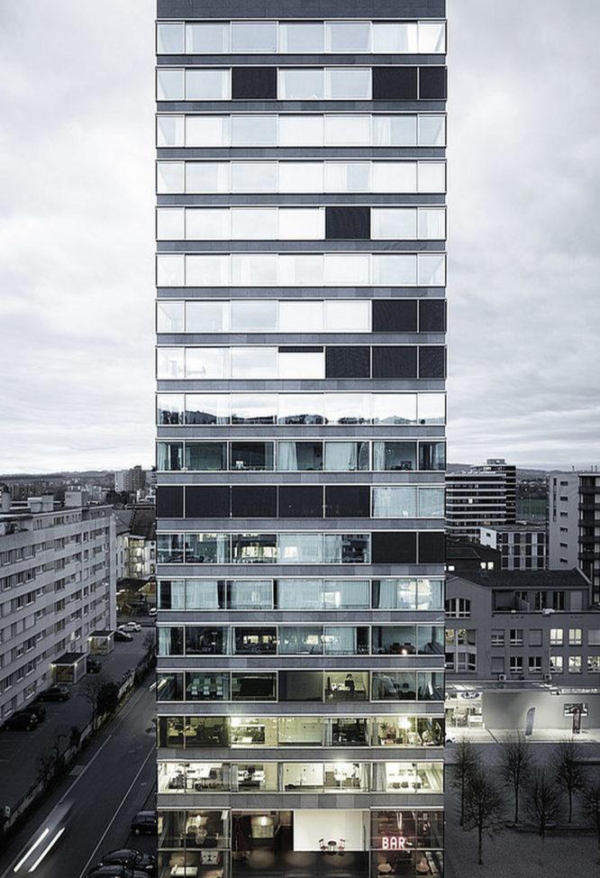 Hochhaus in Zug